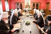 A avut loc ședința Sinodului Bisericii Ortodoxe din Ucraina
