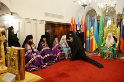 Состоялось наречение архимандрита Петра (Дмитриева) во епископа Луховицкого, викария Московской епархии