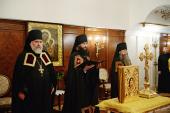 Слово архимандрита Петра (Дмитриева) при наречении во епископа Луховицкого, викария Московской епархии