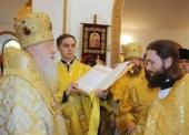 Игумен Петр (Дмитриев), избранный епископом Луховицким, возведен в сан архимандрита