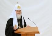 Святейший Патриарх Кирилл: Нельзя идти на поводу у людей, которые ненавидят крест Господень