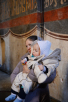 Патриаршее служение в праздник Иверской иконы Божией Матери в Новодевичьем монастыре г. Москвы. Божественная литургия. Хиротония архимандрита Петра (Дмитриева) во епископа Луховицкого