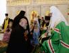 Наречение архимандрита Савватия (Перепелкина) во епископа Ванинского, архимандрита Силуана (Шаларя) во епископа Орхейского и архимандрита Николая (Дегтярева) во епископа Черняховского