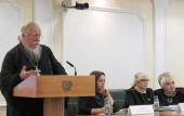 Председатель Патриаршей комиссии по вопросам семьи, защиты материнства и детства выступил на парламентских слушаниях по семейному законодательству