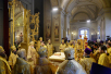 Патриаршее служение в храме сщмч. Климента, папы Римского, в Замоскворечье. Хиротония архимандрита Савватия (Перепелкина) во епископа Ванинского и Переяславского