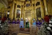 Слово Святейшего Патриарха Кирилла после Литургии в храме священномученика Климента, папы Римского, в Замоскворечье