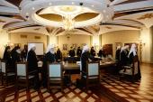 Члены Высшего Церковного Совета вознесли молитву о жертвах крушения самолета на Синае
