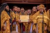 До Голосіївського монастиря Української Православної Церкви передано святині, пов'язані з ім'ям свт. Спиридона Триміфунтського
