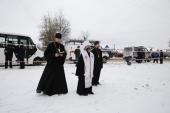В Иваново совершены заупокойные богослужения по погибшим в результате взрыва газа в жилом доме