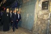 Председатель Правительства России Д.А. Медведев посетил Русскую духовную миссию в Иерусалиме