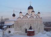 Митрополит Крутицкий Ювеналий возглавил великое освящение собора Введенского Владычнего монастыря в Серпухове