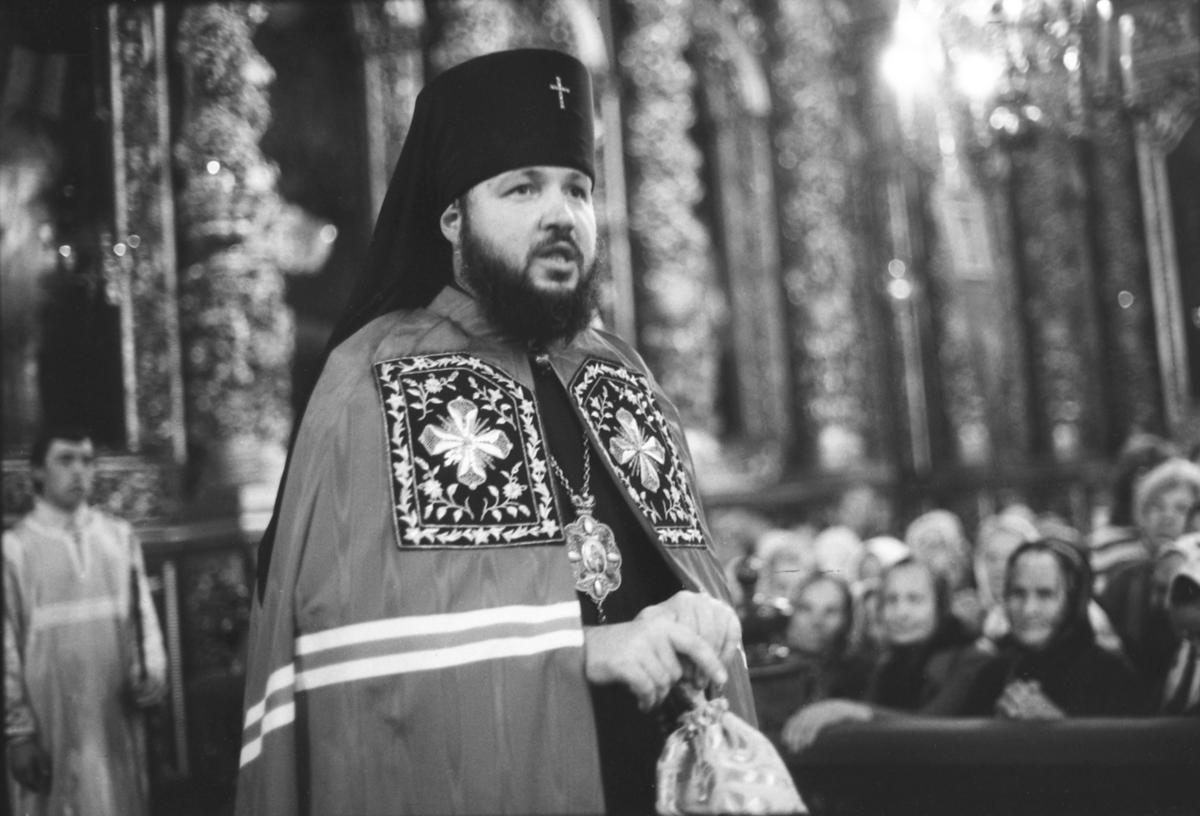 Проповедь в Успенском кафедральном соборе г. Смоленска. 1980-е гг.