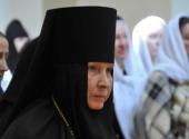 Патриаршее поздравление настоятельнице Иерусалимского Горненского монастыря игумении Георгии (Щукиной) с 85-летием со дня рождения