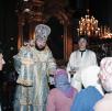Всенощное бдение в Успенском кафедральном соборе г. Смоленска. 1990-е гг.