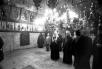 Во время визита Святейшего Патриарха Алексия II на Святую Землю. Май 1992 г.