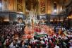 Пасха. Москва, Храм Христа Спасителя. 24 апреля 2011 г.