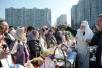Традиционный объезд храмов в Великую субботу. Москва. 19 апреля 2014 г.