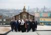 Посещение мемориала «Норильская голгофа». Норильск, 16 сентября 2015 г.