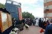 У памятника морякам атомной подводной лодки «Курск» в Мурманске. 19 августа 2016 г.