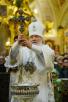 Служение в праздник Богоявления в Елоховском соборе г. Москвы. Великое освящение воды. 19 января 2016 г.