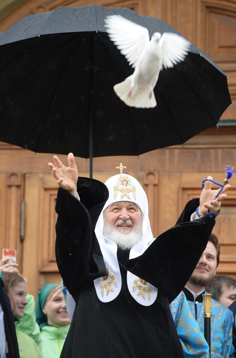 Благовещение. Москва, Кремль. 7 апреля 2016 г.
