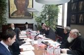 Работа над документами канонического характера продолжается в Межсоборном присутствии
