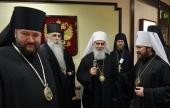 В российскую столицу прибыл Святейший Патриарх Сербский Ириней