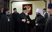 Началось пребывание в Москве Предстоятеля Польской Православной Церкви