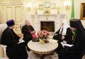 Святейший Патриарх Кирилл встретился с новым Апостольским нунцием в России