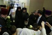 В Москву прибыл Предстоятель Грузинской Православной Церкви