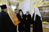 Встреча Святейшего Патриарха Кирилла с Предстоятелем Сербской Православной Церкви