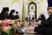 Святейший Патриарх Кирилл встретился с представителем Константинопольского Патриархата