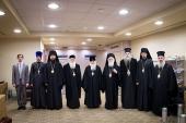 На торжества по случаю 70-летия Святейшего Патриарха Кирилла прибыл Предстоятель Албанской Православной Церкви