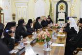 Состоялась встреча Святейшего Патриарха Кирилла со Святейшим и Блаженнейшим Католикосом-Патриархом всея Грузии Илией II