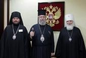 Предстоятель Кипрской Православной Церкви прибыл в российскую столицу