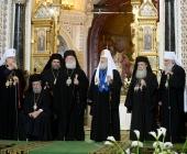 Слово Святейшего Патриарха Кирилла в Неделю 22-ю по Пятидесятнице после Литургии в Храме Христа Спасителя