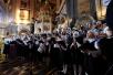 Торжественное богослужение в Храме Христа Спасителя в день 70-летия Святейшего Патриарха Кирилла