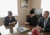 На торжества по случаю 70-летия Святейшего Патриарха Кирилла прибыл председатель Управления мусульман Кавказа