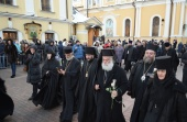 Предстоятели Александрийской и Кипрской Православных Церквей посетили Покровский ставропигиальный монастырь