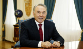 Поздравление Президента Республики Казахстан Н.А. Назарбаева Святейшему Патриарху Кириллу с 70-летием со дня рождения