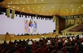Предстоятели и представители Поместных Православных Церквей приняли участие в торжественном акте, посвященном 70-летию Святейшего Патриарха Кирилла