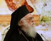 Поздравление Блаженнейшего Архиепископа Тиранского и всей Албании Анастасия по случаю 70-летия со дня рождения Святейшего Патриарха Московского и всея Руси Кирилла