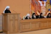 Речь Блаженнейшего Митрополита Чешских земель и Словакии Ростислава на торжественном акте по случаю юбилея Предстоятеля Русской Православной Церкви