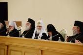 Слово Святейшего и Блаженнейшего Католикоса-Патриарха всея Грузии Илии II на торжественном акте по случаю 70-летия Предстоятеля Русской Православной Церкви