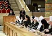 Поздравительное слово Блаженнейшего Патриарха Александрийского Феодора в связи с юбилеем Предстоятеля Русской Православной Церкви