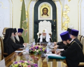 Святейший Патриарх Московский и всея Руси Кирилл встретился с делегацией Элладской Православной Церкви