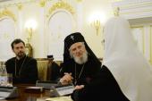 Состоялась встреча Святейшего Патриарха Кирилла с делегацией Румынской Православной Церкви