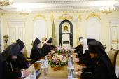 Состоялась встреча Святейшего Патриарха Кирилла с Верховным Патриархом и Католикосом всех армян Гарегином II