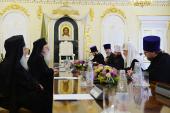 Întâistătătorul Bisericii Ortodoxe Ruse s-a întâlnit cu Preafericitul Arhiepiscop al Tiranei și al întregii Albanii Anastasie