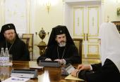 Состоялась встреча Святейшего Патриарха Кирилла с делегацией Болгарской Православной Церкви